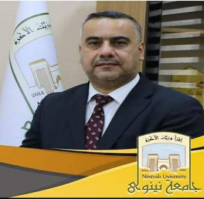 Prof. Osama Al-Mashadany, President of Ninevah Universiy and Conference Chairman